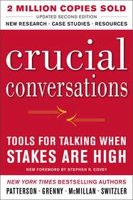 The New York Times best-seller 'Crucial Conversations.'