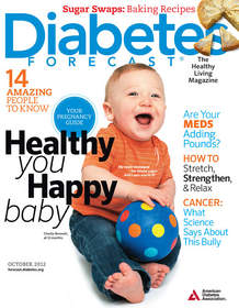 Diabetes Forecast, October 2012 cover