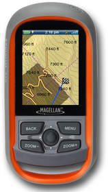 Magellan eXplorist 310 with Kirsch's TRAX hunting maps