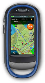 Magellan eXplorist 510 Outdoor GPS with Kirsch's TRAX hunting maps