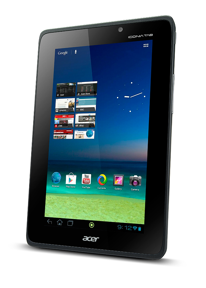 Acer, tablet, A110, Android