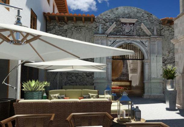 Hotel de lujo en el centro de Cusco