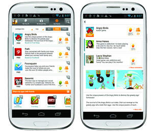 app, discovery, the social network, app store, how do I get an app, application for android app