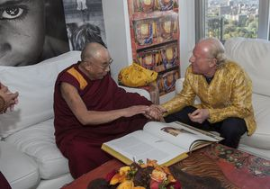 Bobby Sager and Dalai Lama -- Beyond the Robe book