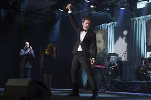 Tony, Emmy and Golden Globe Awards nominated artist Matthew Morrison from Glee performed during the RHC Awards of Excellence Ceremony.