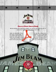 On its first anniversary as a publicly traded standalone company, Beam officially unveiled its new visitors' center -- The Jim Beam American Stillhouse -- at its flagship distillery in Clermont, Ky.