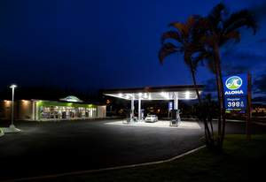 The rebuilt Aloha Island Mart in Kahala, designed by CBX, took top honors in the 'Sky's the Limit Remodel' category in the Convenience Store News Retail Design Awards program.