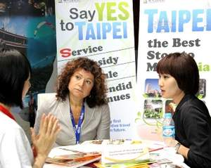 The Taipei City Government has sent a Department of Information and Tourism team to the 2012 IT&CMA in Bangkok, introducing Taipei's mature MICE industry infrastructure to foreign industry professionals.