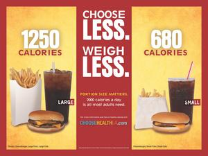 Los Angeles County Department of Public Health Portion Control Campaign