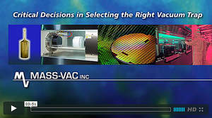The MultiTrap(R) Vacuum Trap Selection Criteria and Configurations Video