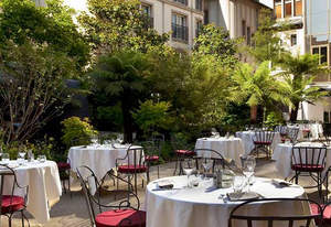 terrace restaurants in paris