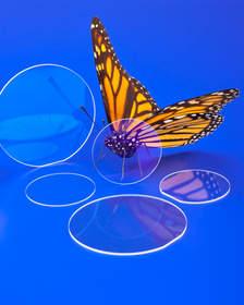 Meller Sapphire Waveplates change a laser beam polarization state