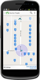 WhitePages, people search, business search, reverse phone, caller ID, nearby discovery, neighbors