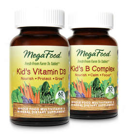 MegaFood's children's health supplements are crafted from farm-fresh, local foods using a unique process that delivers the wholesome nourishment from the food, and not just vitamins alone.
