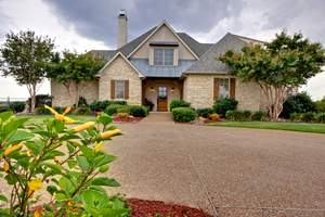 The Collin County Estate is a three-bedroom ranch home sitting on 80 acres at one of the highest elevations in Celina