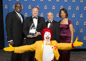 Arcos Dorados, RMHC, Awards of Excellence, Woods Staton, Don Thompson