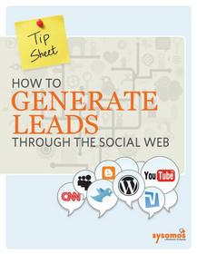 How to Generate Leads through the Social Web