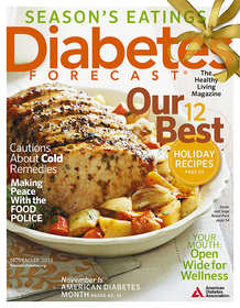 Diabetes Forecast, November 2012 cover