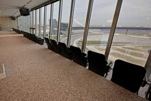 Two penthouse units at the Lonestar Tower, which overlook the Texas Motor Speedway, will sell at an absolute auction, with no minimums and no reserves, on December 6.