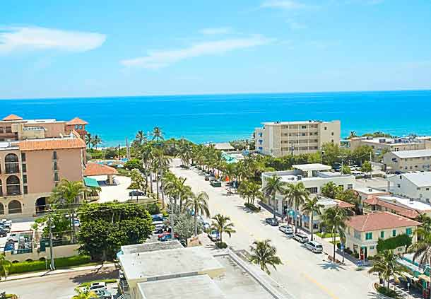 Hotels in Downtown Delray Beach, Florida