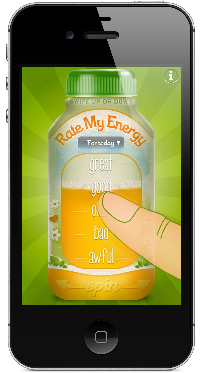Energy Tracking iPhone App