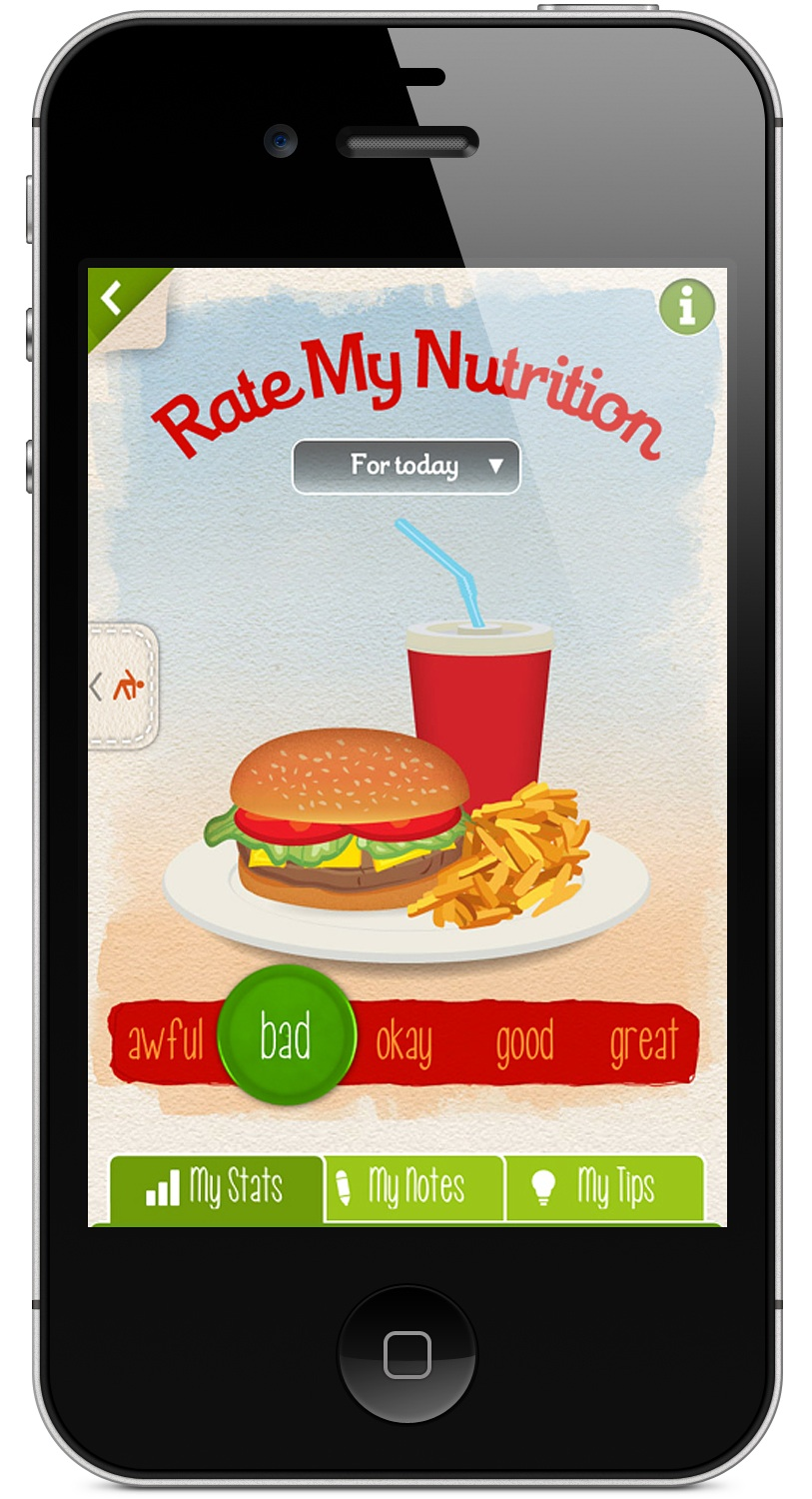 nutrition iphone app, sleep iPhone app, exercise iphone app