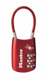 Airports pose a variety of security risks, don't let your luggage become a target. Keep it locked down with the 4688D TSA-accepted Luggage Lock -- allowing screeners to easily unlock and inspect your luggage while keeping your things safe and secure from unauthorized entry.