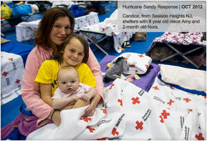 Hurricane Sandy Victims shelter at a Red Cross Station - MarketResearch.com