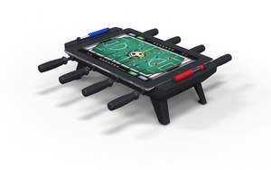 New Potato's Technologies Classic Match Foosball Game Table for iPad accessory.