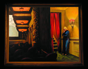 Pageant of the Masters Re-creation: 'New York Movie' by Edward Hopper
