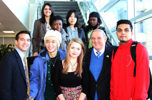 New York Credit Union Sponsors International Student Luncheon