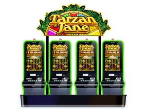 Aristocrat's Award-winning Tarzan & Jane Forbidden Temple(TM) Top Progressive Jackpot Hits for First Time for $145,907.06 at Thunder Valley Casino Resort