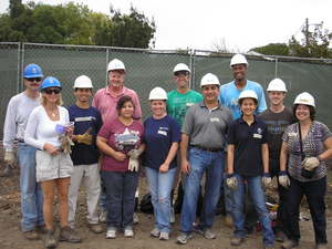 Mass Mutual San Francisco sent a team of volunteers to help build the new Habitat for Humanity homes in the Pleasant Creek community in Walnut Creek.