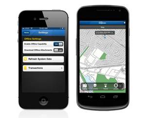 Accela Inspector App on iPhone  and Android Phone