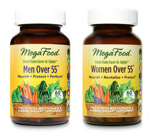 MegaFood Multivitamins for Men and Women Over 55 Years