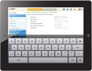 Free federal tax filing with TaxACT's new Free Federal Edition tablet app