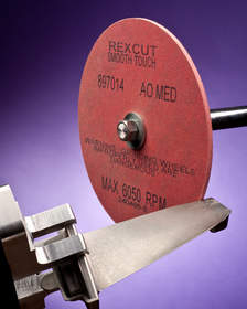 Rex-Cut(R) Smooth Touch(TM) Type 1 Deburring Wheels