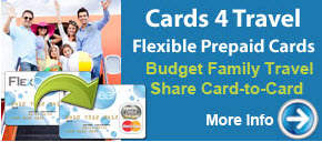 Cards 4 Travel - Budget Travel with prepaid MasterCard