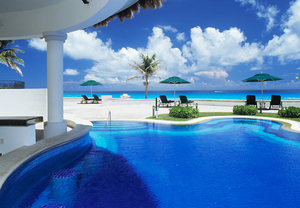 Cancun beach resort
