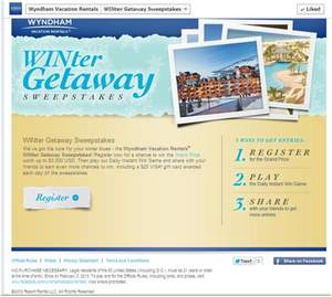 Wyndham Vacation Rentals WINter Getaway Sweepstakes