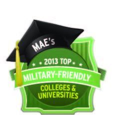 military-friendly university