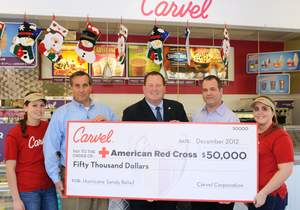 Carvel Ice Cream, American Red Cross, Superstorm Sandy