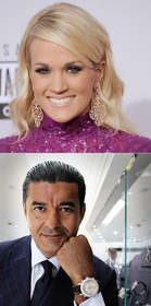 Carrie Underwood and Jacob Arabo