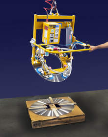 The Anver AT-Series Vacuum Lifter-Tilter
