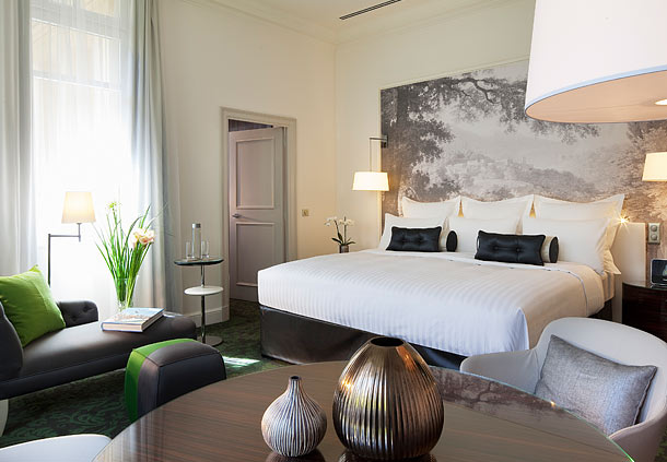 Boutique hotel suites in Paris