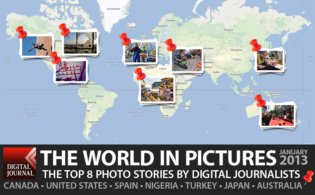 Digital Journal Photo Essay contest entries from around the globe