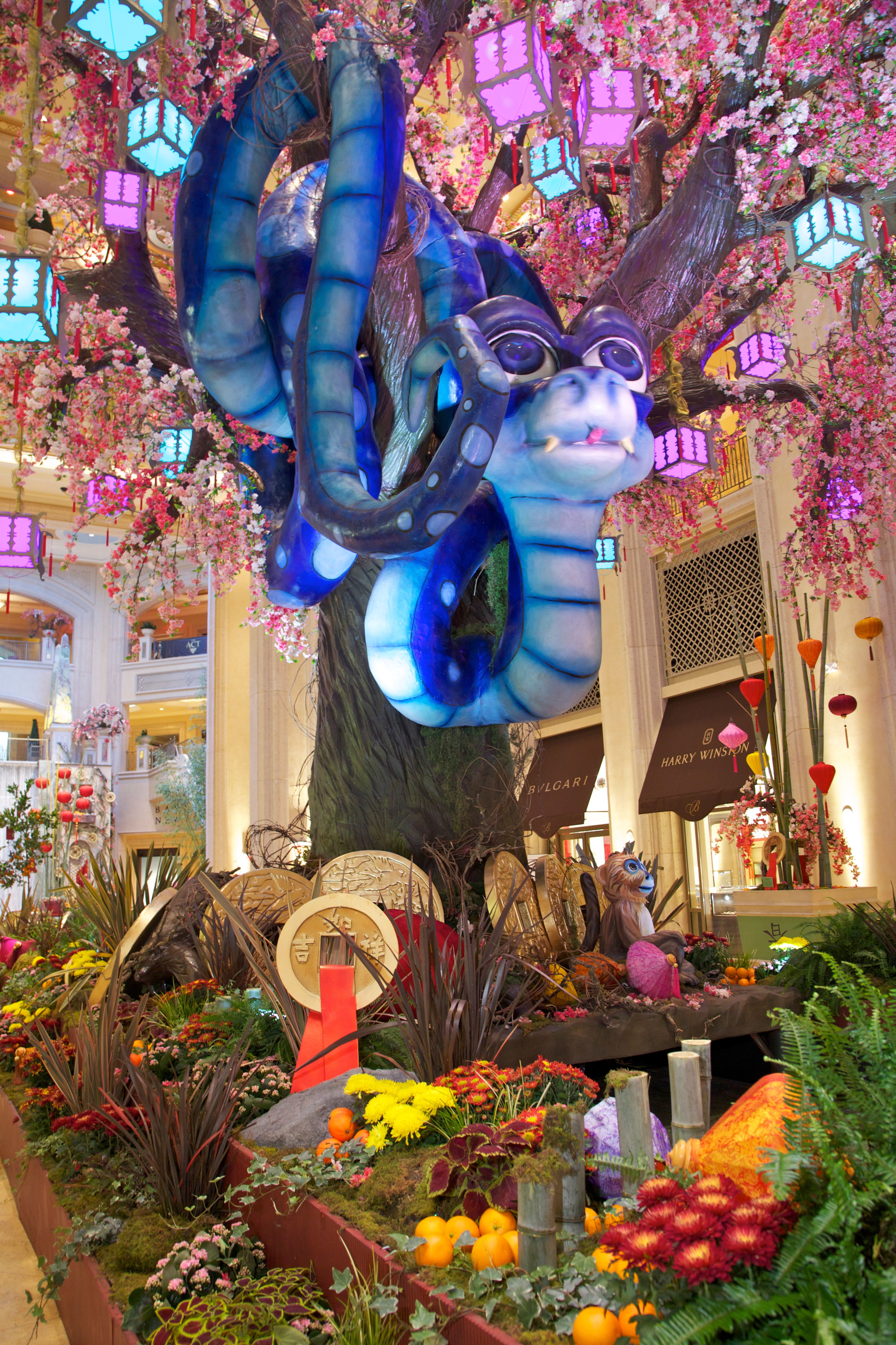 The Palazzo Las Vegas Chinese New Year 2013 Art Installation
