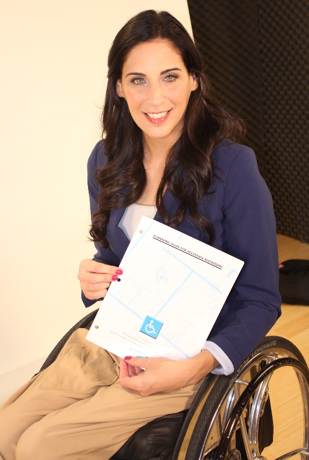 ADA Planning Guide for Accessible Restrooms and Mia Schaikewitz from 'Push Girls'