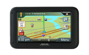 Magellan RoadMate Commercial 5370T-LMB GPS navigator