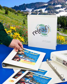 ReLeaf(TM) 3 Ring Binders